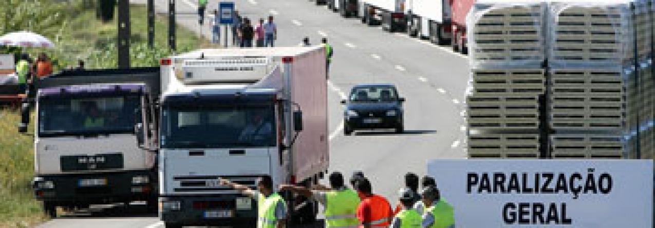 Efeitos da greve das transportadoras pode chegar aos Açores