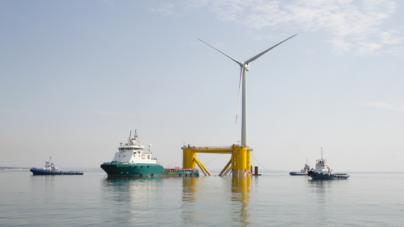 Portugal tem turbina eólica flutuante pioneira no mundo