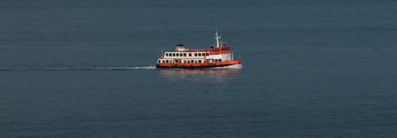 Um possível naufrágio deixaria vítimas na água