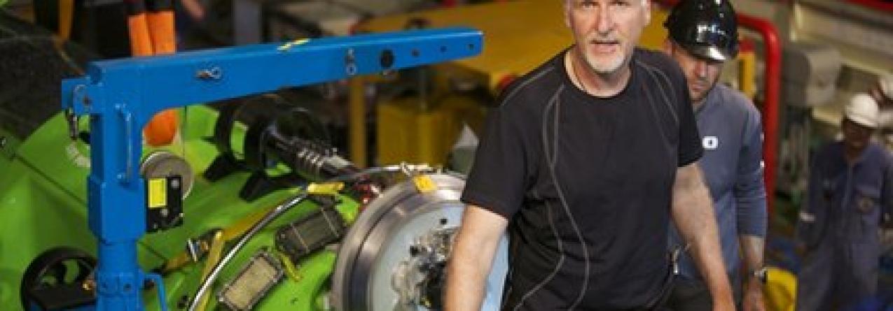 James Cameron viaja até à zona mais profunda da Terra