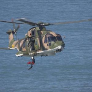 Força Aérea resgatou três naufragos russos ao largo da ilha Terceira