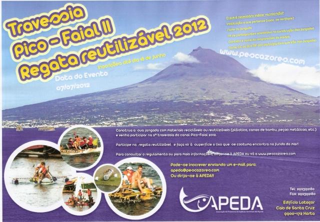 Travessia Pico-Faial II: Uma regata reutilizável
