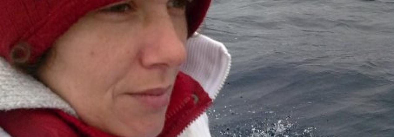 A indignação de uma pescadora