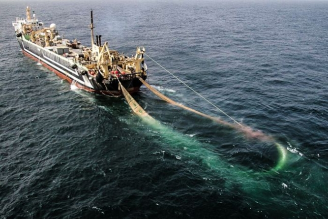 Austrália bloqueia atividade de um dos maiores barcos de arrasto do mundo