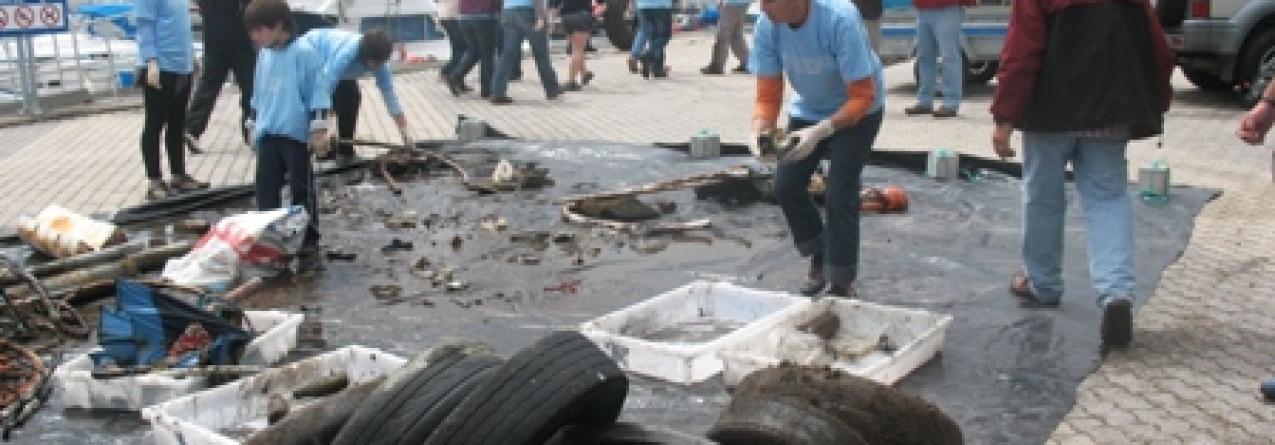 CAMPANHA LIMPA(A) FUNDO – Limpeza subaquática do Porto de Pescas da Horta