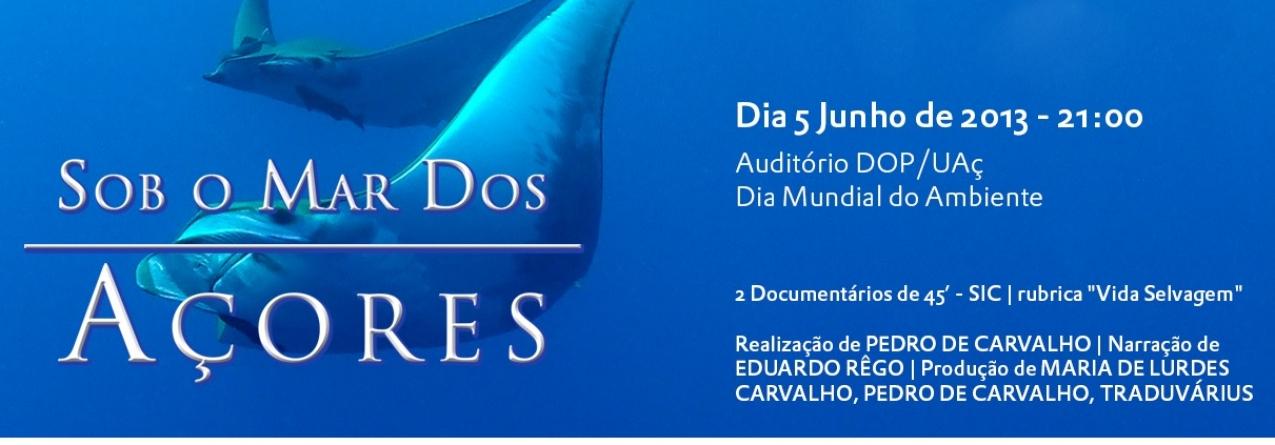 """Documentário """"Sob o Mar dos Açores"""""""