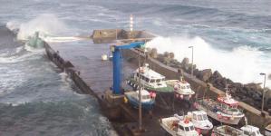 Ampliação do porto da ilha do Corvo