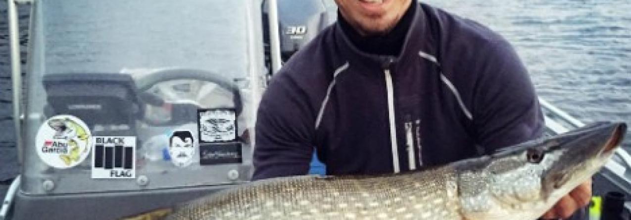 Ibrahimovic também goleia na pesca