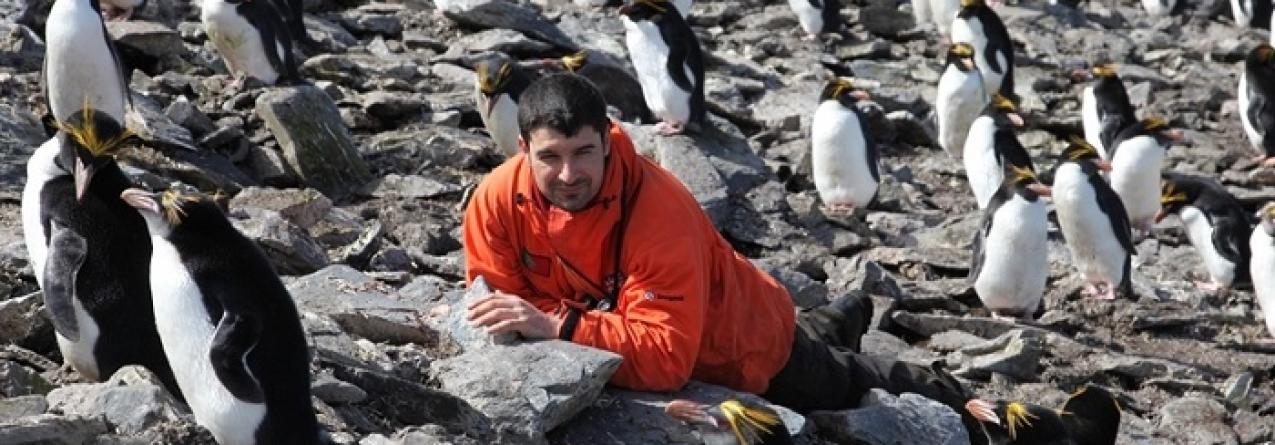 José Xavier participa no Atlas  sobre vida marinha no Oceano Antárctico
