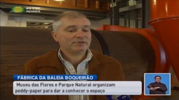 Fábrica da Baleia do Boqueirão explicada ao público (vídeo)