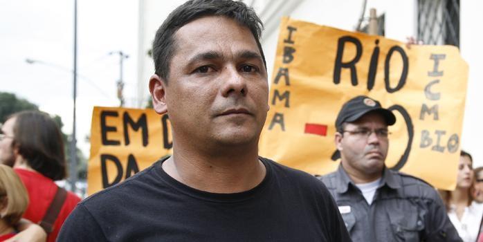 Pescador ativista brasileiro em perigo de vida