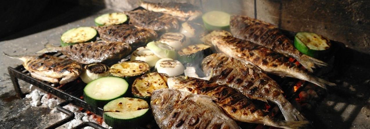 Peixe grelhado, uma paixão nacional
