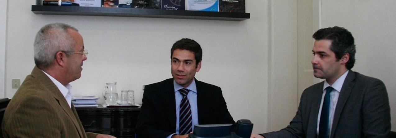 APEDA reúne com o Secretário Regional do Mar, Ciência e Tecnologia
