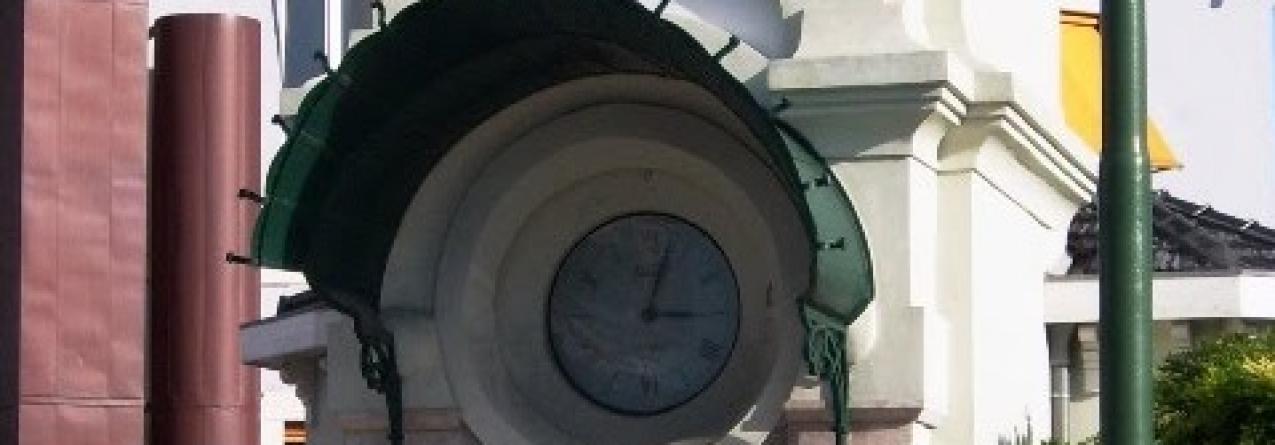 Relógio da Hora Legal no Cais do Sodré