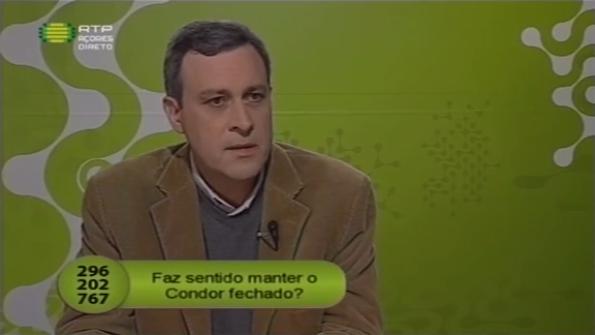 Estação de Serviço sobre as implicações de manter o Condor fechado (video)