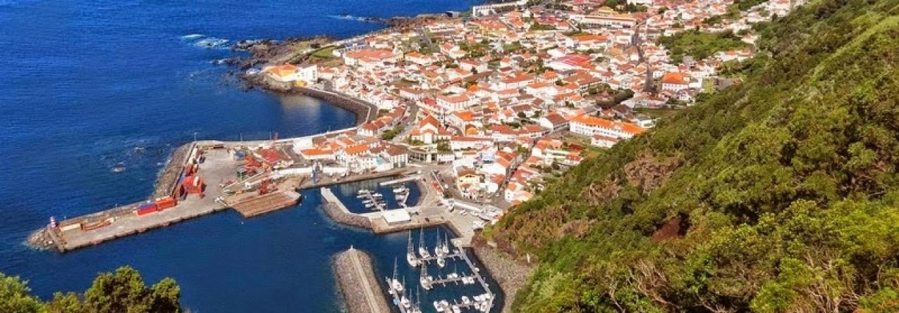 Empreitadas em portos nas ilhas São Jorge e Terceira