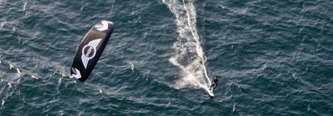 Francisco Lufinha prepara travessia de Lisboa ao Funchal em kitesurf em 36 horas