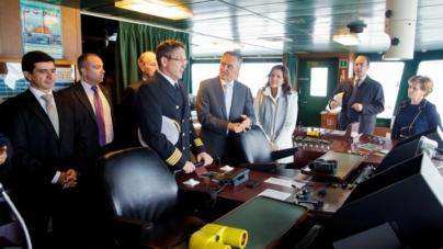 Cavaco Silva sobre importância dos transportes marítimos