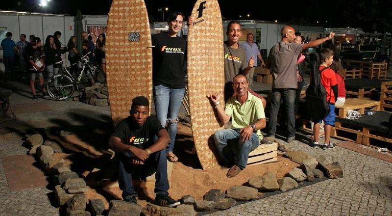 A prancha de surf que vem da Serra do Caldeirão