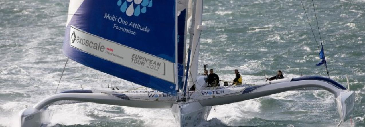 Na Horta «Race for Water», um barco único uma expedição única