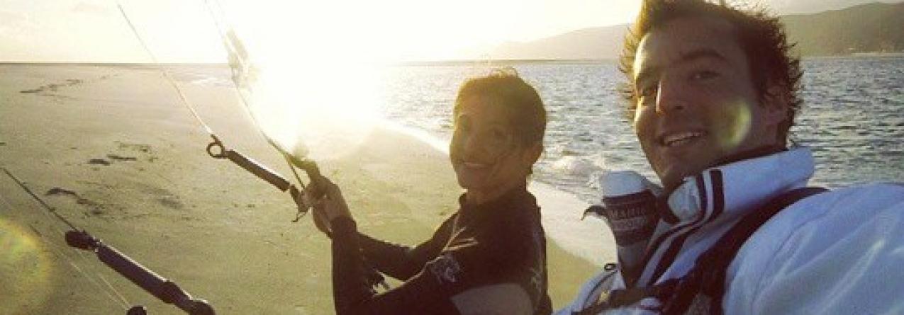 Francisco Lufinha leva crianças ao mar