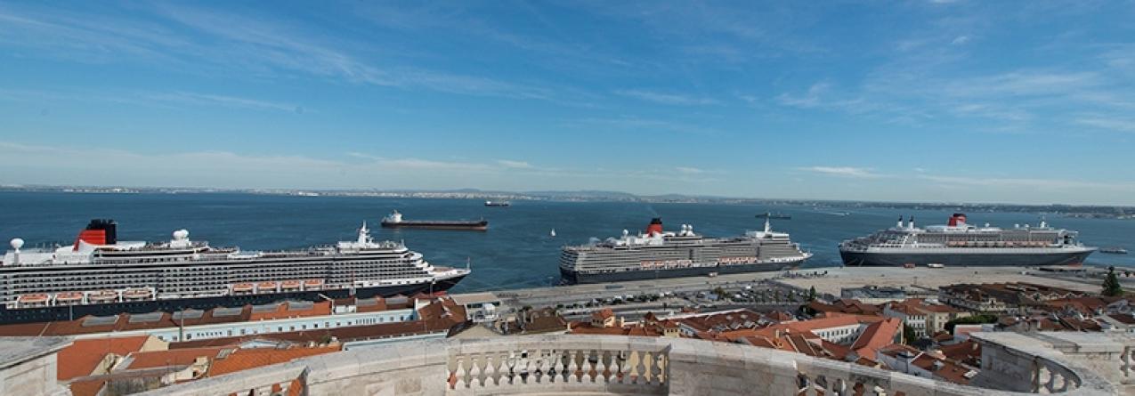 Porto de Lisboa: Cruise Day Lisbon assinalado a 9 e 10 de maio