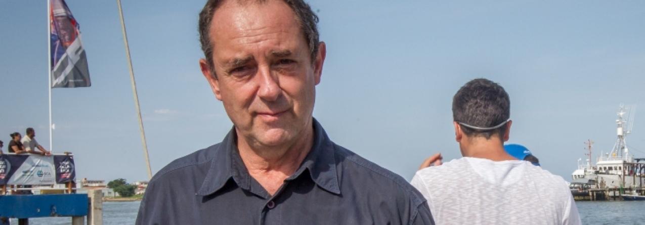 """Velejador brasileiro Amyr Klink """"Volvo Ocean Race é um evento incrível"""""""
