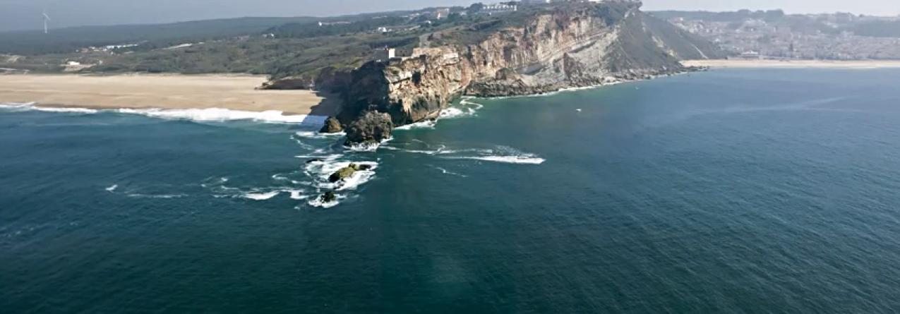 Onda da Nazaré, como se forma (vídeo)