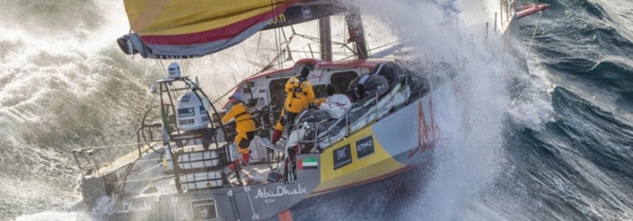 Abu Dhabi isola-se no comando da Volvo Ocean Race (vídeo)