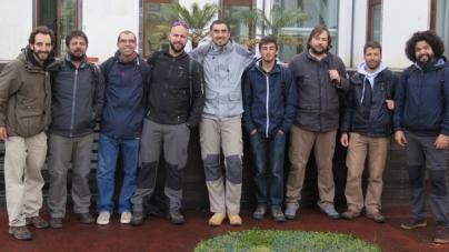 A equipa de observadores do POPA prepara-se para a safra de 2015
