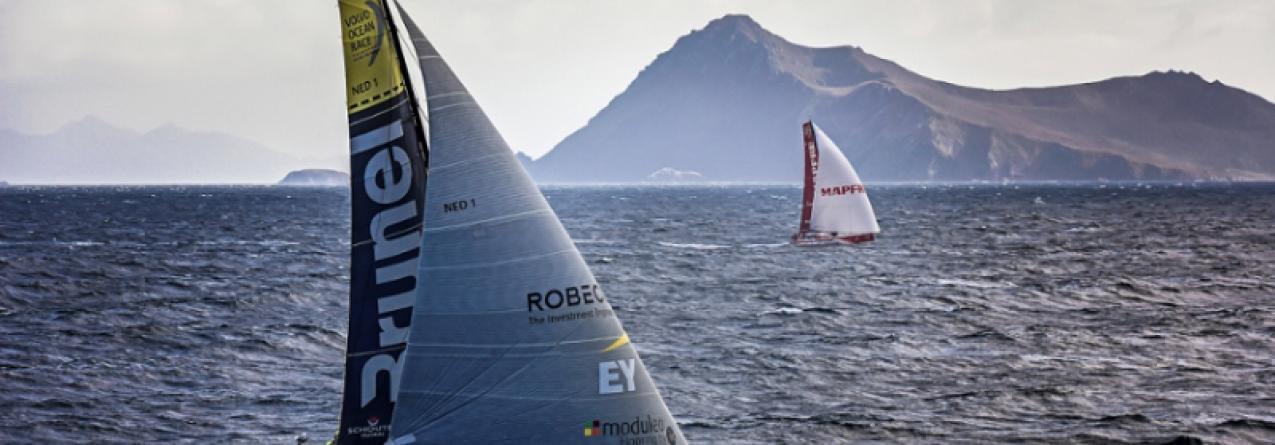 Volvo Ocean Race desembarcou no Brasil