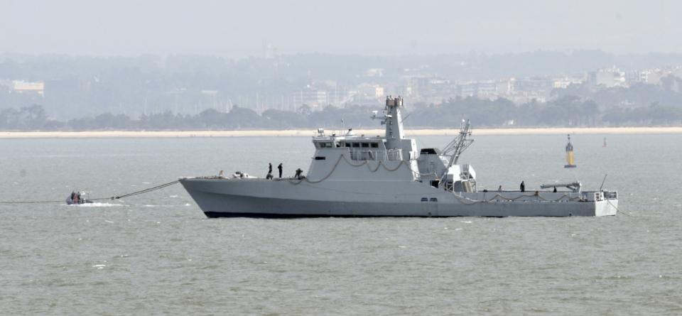 Novo patrulha da Marinha Portuguesa chega a Lisboa