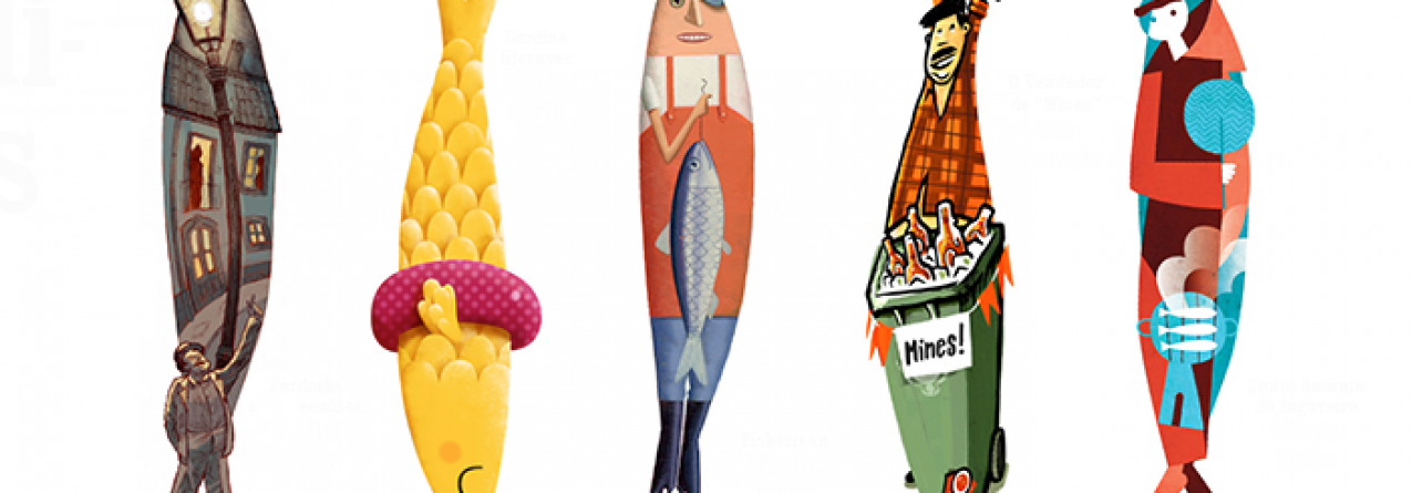 Ó Evaristo, tens cá disto? Estas são as sardinhas das Festas de Lisboa 2015
