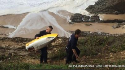 Mini-veleiro norte-americano dá à costa em Portugal