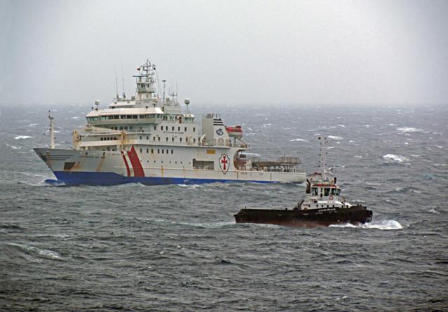 Corpo da criança que morreu ao largo dos Açores chegou ao Porto da Horta.