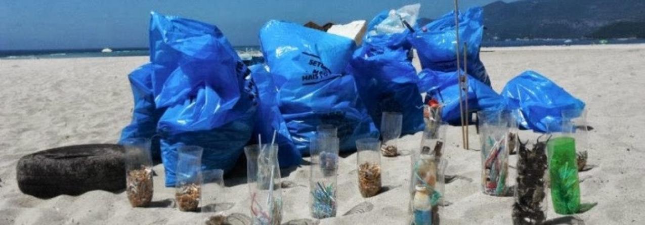 Exposição em Alcântara mostra o problema do lixo marinho à escala global