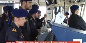 Autoridade Marítima usa drone em simulacro (vídeo)