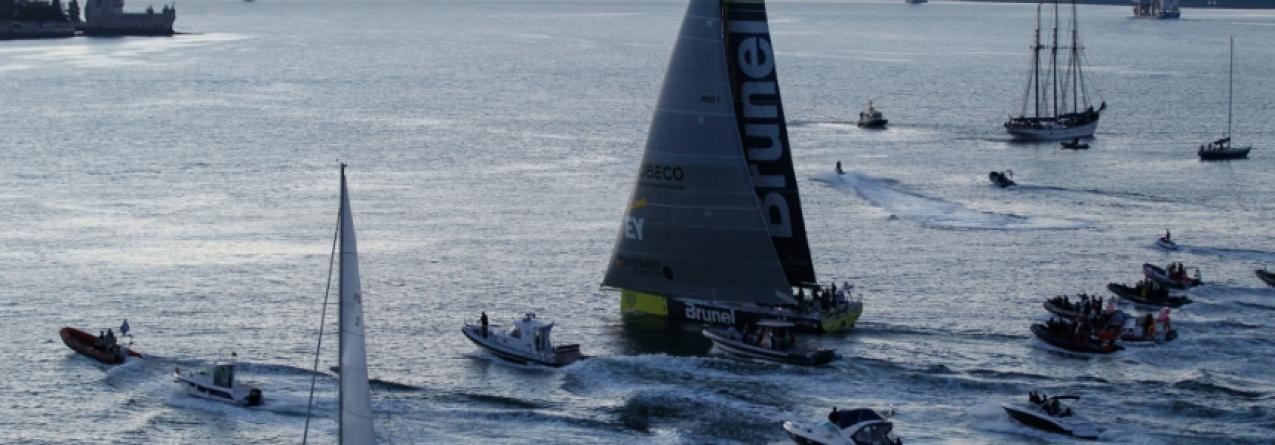 Team Brunel vence em Lisboa 7ª etapa da Volvo Ocean Race