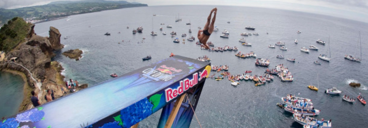 Açores é o próximo destino do Red Bull Cliff Diving World Series