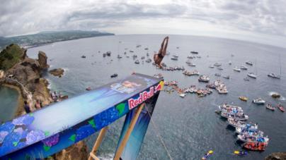 Açores é o próximo destino do Red Bull Cliff Diving World Series