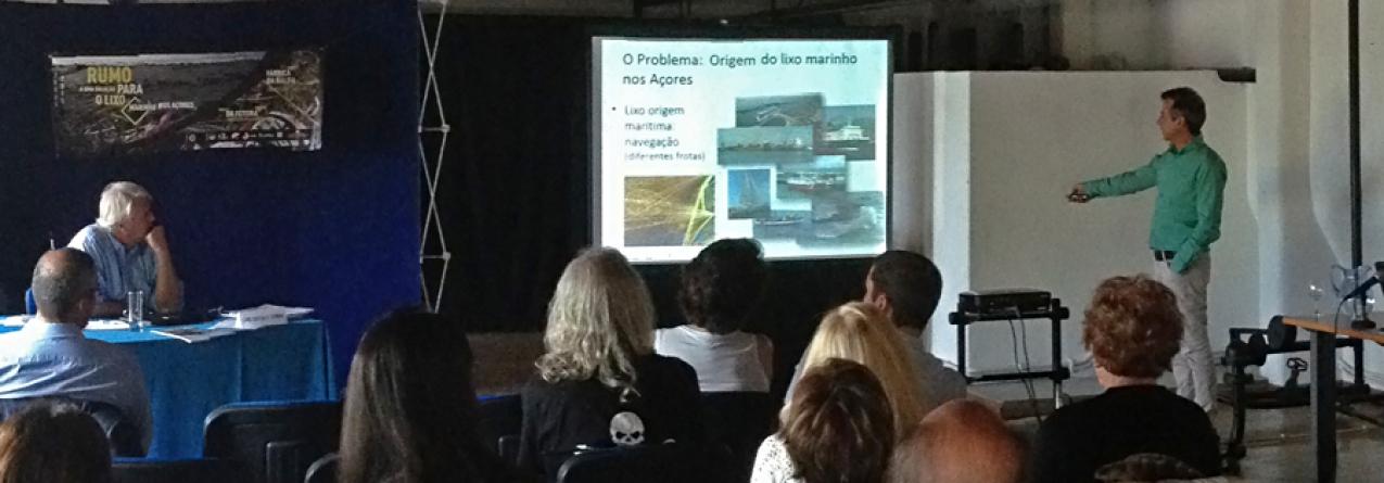 """Filipe Porteiro """"Os Açores estão muito expostos ao problema do lixo marinho devido à sua posição geográfica"""""""