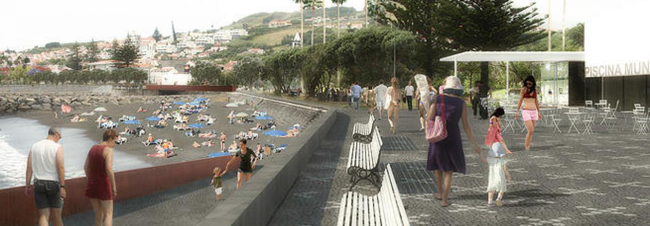Frente Mar da cidade da Horta // Aprovação do Estudo Prévio