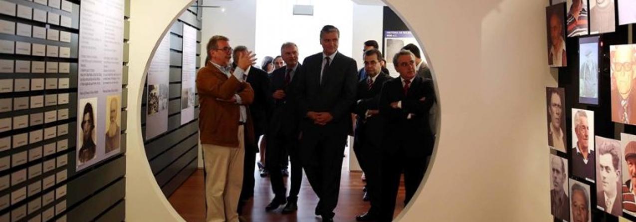 Inauguração do novo Museu da Fábrica da Baleia do Boqueirão na ilha das Flores