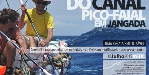 IV Travessia do Canal Pico-Faial em Jangada