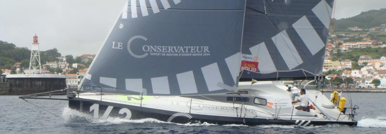 Les Sables – Horta 2015 // A regata cumpre primeira etapa, com chegada de veleiros à Horta