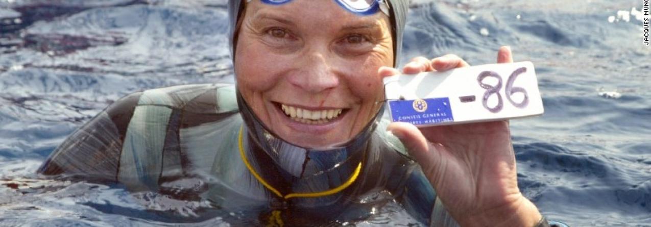 Recordista de apneia Natalia Molchanova terá morrido em mergulho no Mediterrâneo