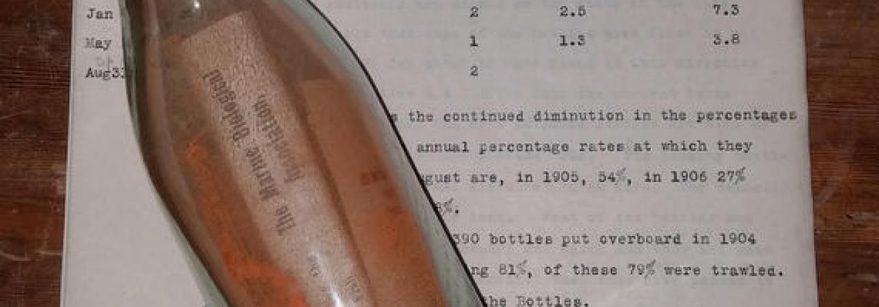 Alemanha // Mensagem na garrafa mais antiga do mundo foi encontrada. E houve direito a recompensa