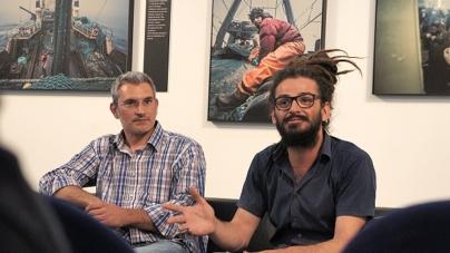 Exposição de Pepe Brix sobre a vida nos bacalhoeiros