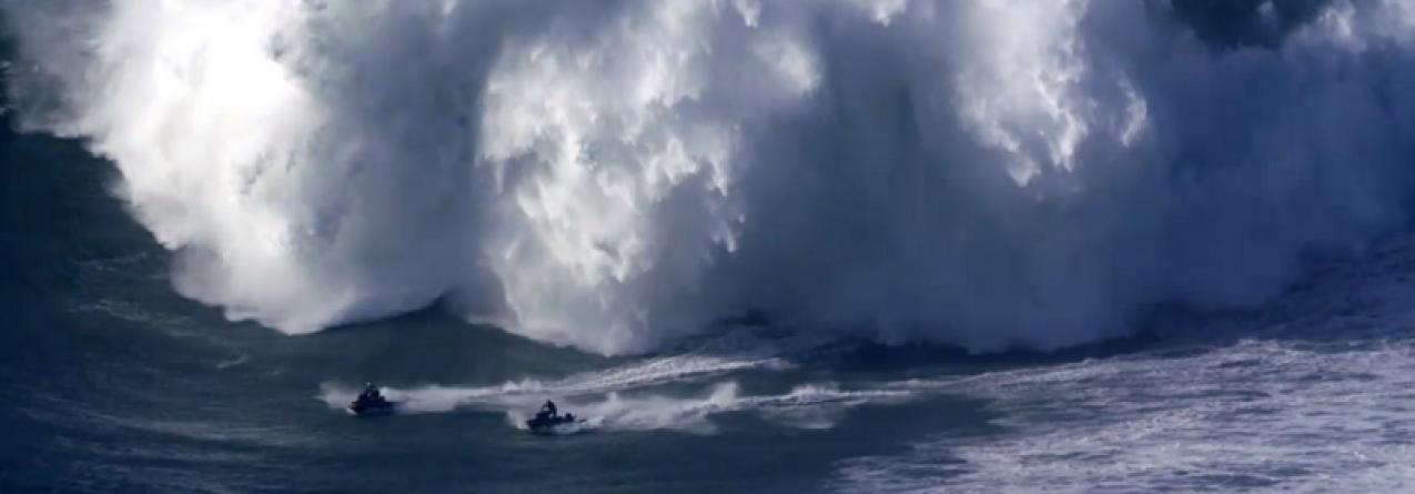Garrett McNamara // Ondas Grandes da Praia do Norte foram tema de reportagem na ABC News (vídeo)