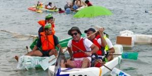 Regata insólita promove o ambiente e o regresso ao rio Sado